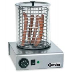 Elektrický přístroj nerezový na hotdogy