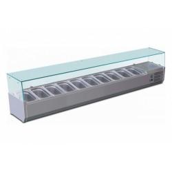 Chladicí vitrína stolní GN 1800 TN-C