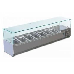 Chladicí vitrína stolní GN 1500 TN-C